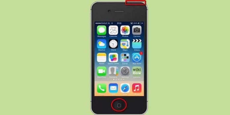 Айфон 5 как сделать экрана