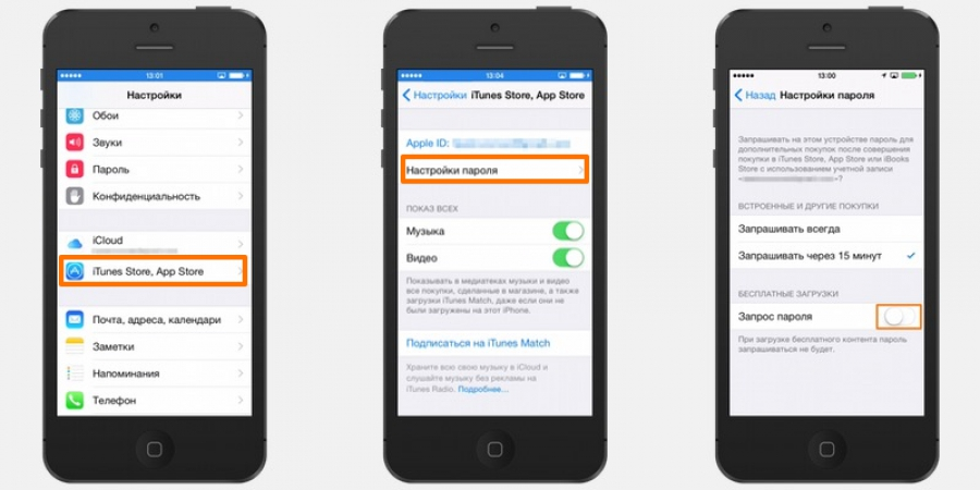 Как установить пароль на запуск (открытие) приложений на iPhone ... | 450x900
